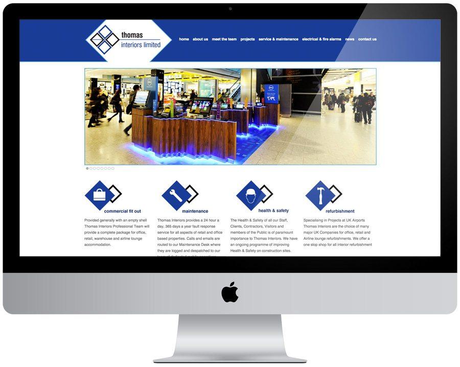 Thomas Interiors Web Design