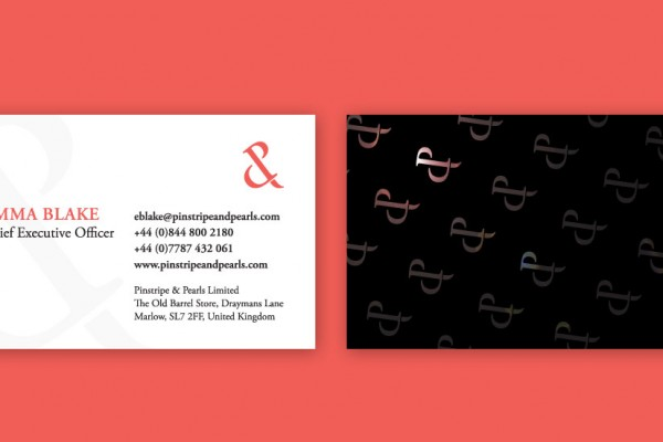 pinstripe-and-pearls-business-card-design