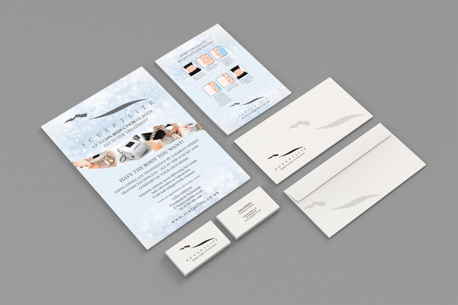 Sculptlite Flyers and Stationery