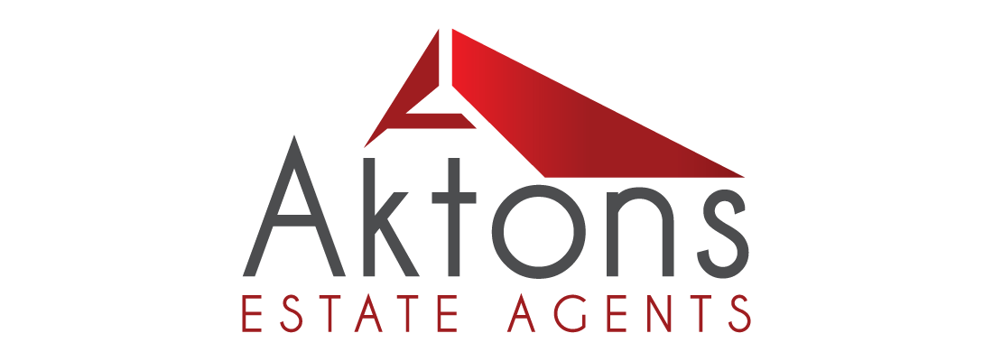 Aktons Estate Agents Logo Design