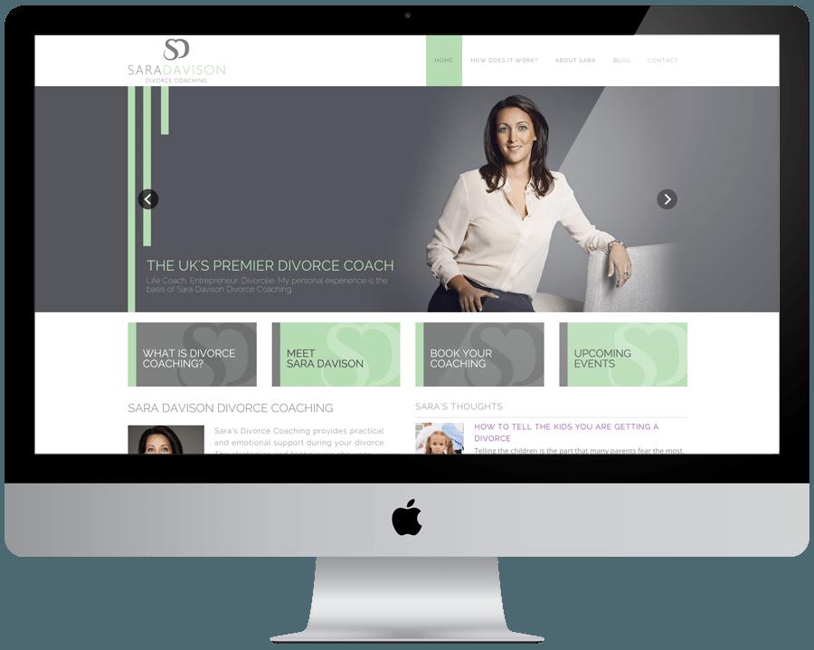 Sara Davison Website Design