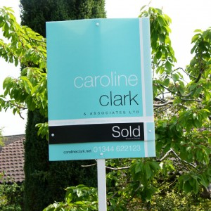 Caroline Clark : Estate Agent Board Design Berkshire