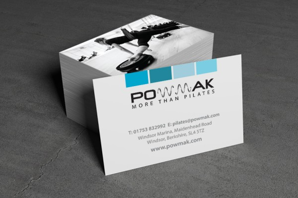Powmak Business Card Design