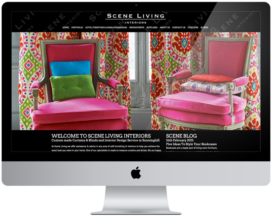 Scene Living Web Design