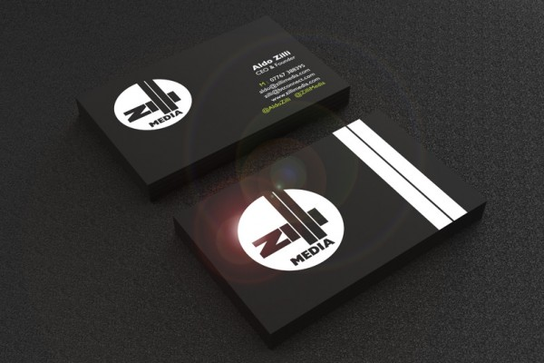 Zilli Business Card Design