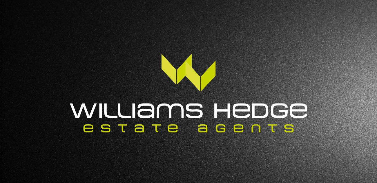 Williams Hedge Estate Agent Logo Design