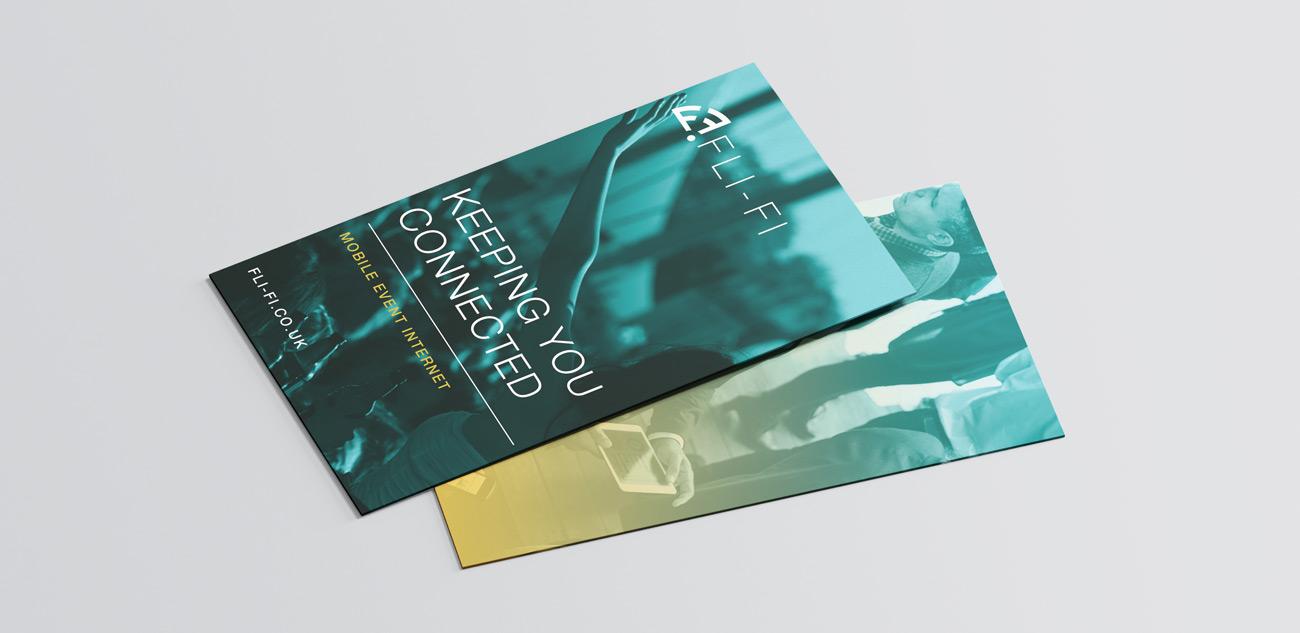 Fli-Fi Info Card Design