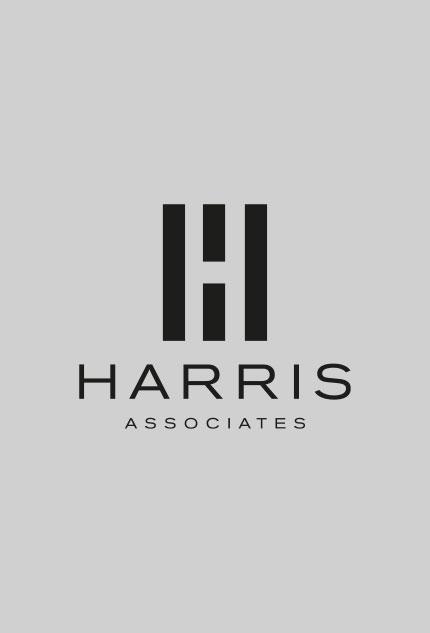 Harris Associates HA Logo Design