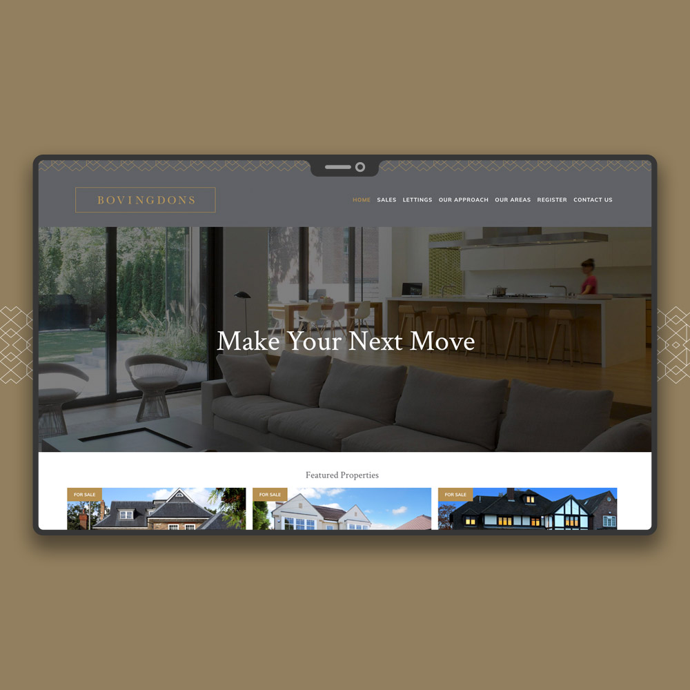 Beaconsfield Estate Agent Web Design