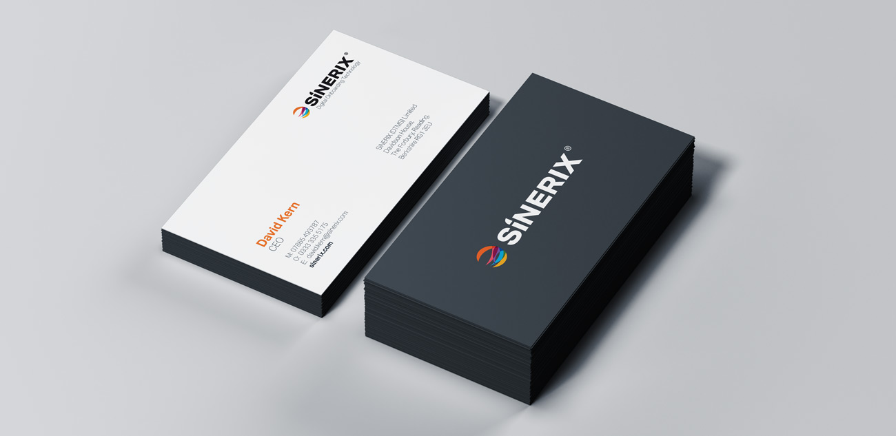 business card design SiNERIX