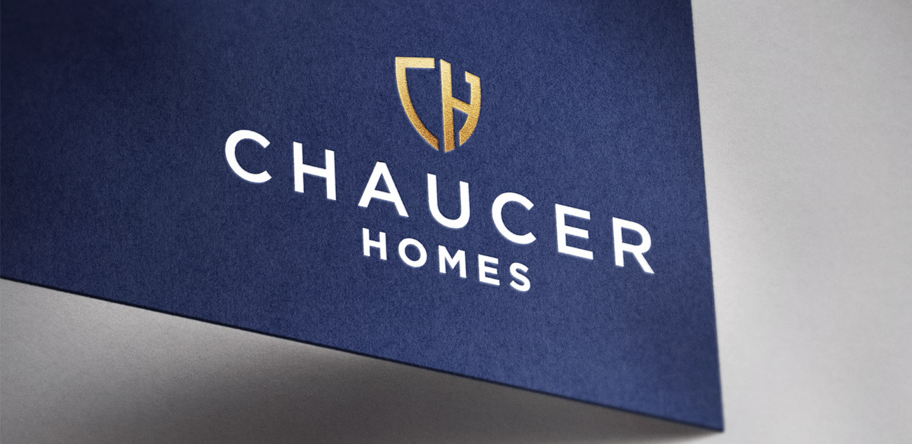Chaucer Homes Business Card Design