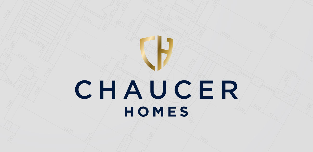 Chaucer Homes Logo Design